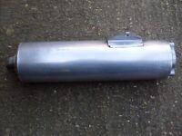 Honda cbr fireblade end can from the 1990's in excellent condition.
