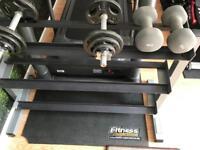 Dumbells Weight Rack