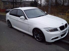 51,00 mile BMW 3 series 320d E90 M sport 51K miles LCI white may PX