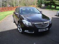 Vauxhall Insignia Exclusive CDTI 5 door hatchback 24/ 12/ 2012