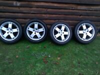 Rover alloy wheels and tyres