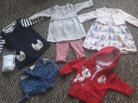 Baby girl clothes aged 3-6 months