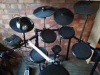 Alesis Nitro Electric Drum Set with Extras