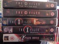 VHS. X Files various