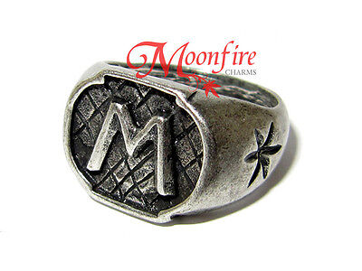 THE MORTAL INSTRUMENTS MORGENSTERN FAMILY RING JACE SHADOWHUNTERS CHAIN INCLUDED