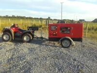 generator diesel 35 kva macgen forsale or forhire