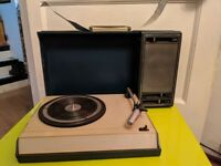 Vintage portable record player - needs some TLC!!