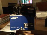 Samsung HMX-F90 hand held camcorder