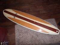 7'6 Cortez epoxy minimal/funboard in very good condition *comes with fins, leash and boardbag*