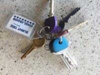 Keys Found - Harborne Birmingham 7th February