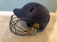 Albion Cricket Helmet with Titanium Grill Very Good Condition