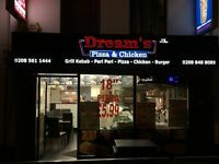 Takeaway restaurant for sale Uxbridge LICENSED TILL 4AM!!