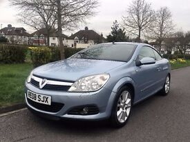 """Vauxhall Astra 1.8 i Design Twin"""" Convertible""""+1 previous owner+1 year Mot"""