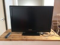 Toshiba 32AV505DB 1080p HD LCD Television with built in Freeview + remote.
