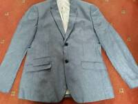 Pinstriped Suit Jacket