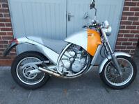 2000 W reg Aprilia Moto 6.5 Motorbike designed by Philippe Starck.