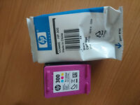 New HP 300 black and colour ink cartridges