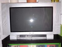 "Panasonic 26"" flat screen wide screen CRT TV"