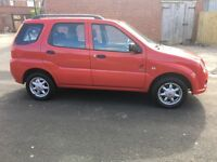 2007 red Suzuki ignis 1.3 5 door immaculate condition