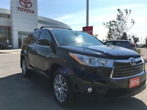 2016 Toyota Highlander XLE - Toyota Certified, Local Vehicle!