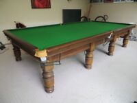 Full Size Snooker Table with Free Delivery and Installation