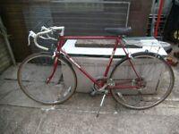 raleigh retro drop handle bar bike