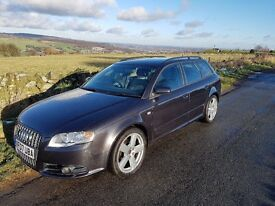 2007 Audi A4 B7 Avant 2.0 TDI (170) S-Line Black Special Edition