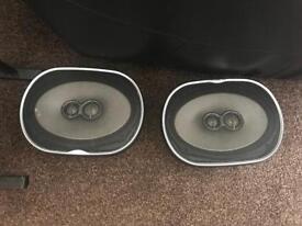 Infinity 6x9 speakers 9603i - 300 watts