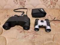 2x binoculars 8x32 and 8x22