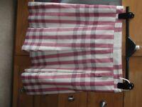 BNWL Never Worn Burberry pink & cream Skirt