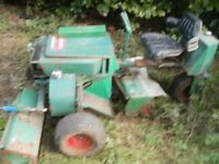 RIDE ON LAWNMOWER RANSOMES 180 EXPORT SPARES REPAIR PARTS CHEAP LOOK CYLINDER GANG MOWER