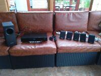 Panasonic SA-PT70 Surround sound system