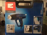 Einhell Hot Air Gun 2000 Watt with Accessories and Carry Case