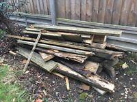 Free firewood for bonfire night 🔥