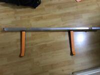 Ikea Bike rack wall storage.
