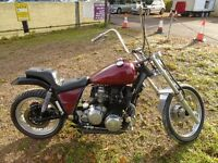Spring Bargain XS 1100 chopper bobber. cost a fortune to build