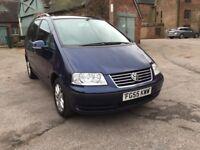 ** 1 OWNER FROM NEW ** 2005 Volkswagen Sharan 1.9 TDI PD SE 5 DOOR MPV DIESEL MANUAL BLUE
