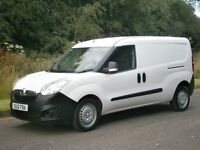 2012(12) Vauxhall Combo LWB CDTi EURO5 L2H1 67k MILES, TWIN SIDE DOORS FINANCE AVAILABLE
