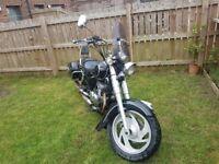 124 cc Jinlun motorcycle