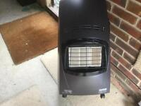 DELONGHI PORTABLE GAS FIRE USED ONCE ONLY PERFECT CONDITION