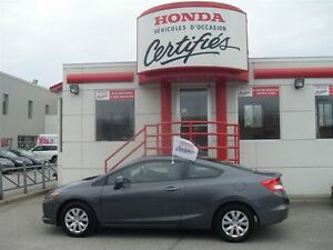 2012 Honda Civic LX 38,520 KM