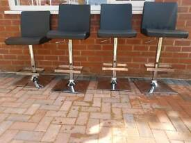 Four Bar Stools/Chairs