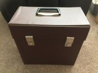 "VINTAGE - STORAGE CASE FOR 12"" LP RECORDS"