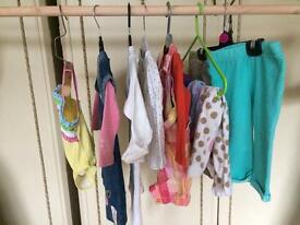 Baby girls bundle of clothes size 6-12 month