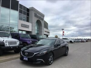 2016 Mazda MAZDA6 GT, Bluetooth, Navi, Sunroof, Clean Carproof