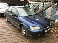1995 Honda Civic 1.4 only 77k swap or px welcome