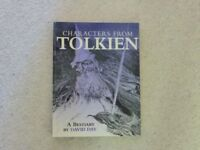 Characters from Tolkien - A Beastiary by David Day
