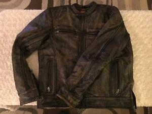 Men's Milwaukee Leather Motorcycle Jacket (medium)