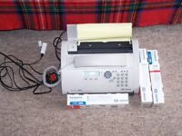 Telephone/fax SAGEM 2840 including 3 new ribbons .