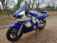 2002 Yamaha R6 - 22500 - excellent condition - Serviced & MOT Febuary 2018 - All Year Biker treated